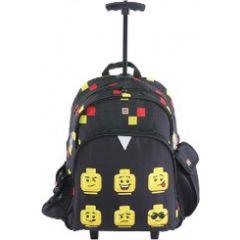 Troller/rucsac LEGO V-Line - design Faces Black