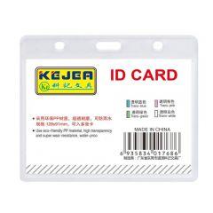 Suport PP water proof, pentru carduri, 85X54 mm, orizontal, KEJEA -transparent
