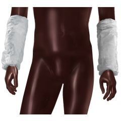 Acoperitori maneci AJSIA PLP Sleeve Covers, unica folosinta, SPP - 30gr./mp, 100 buc/cutie-albe