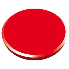 Magneti 32mm, 10/cutie, ALCO - rosu