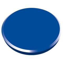 Magneti 32mm, 10/cutie, ALCO - albastru