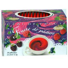 Ceai BELIN fructe de padure, 20 pliculete,cu snur si supraplic