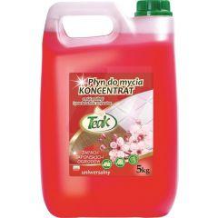 Detergent lichid universal, 5 litri, pentru toate tipurile de pardoseli, Teak - japanesse garden - r