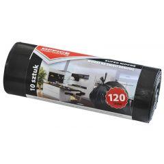 Saci menaj super rezistenti 120L, 66 x 109cm, 24 microni, 10 buc/rola, Office Products - negri