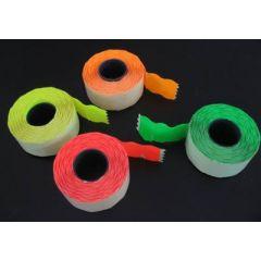 Etichete pret 26 x 12 mm 1500 buc/rola - Verde