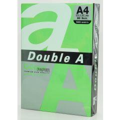 Hartie color pentru copiator  A4,  80g/mp,  25coli/top, Double A - parrot intens