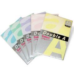 Hartie color pentru copiator  A4,  75g/mp, 100coli/top, Double A - verde neon