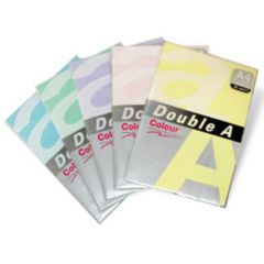 Hartie color pentru copiator  A4,  75g/mp, 100coli/top, Double A - roz neon
