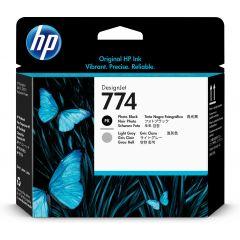 HP P2W00A PRINTHEAD 774 PH BLK/LGT GRAY