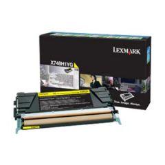 LEXMARK X748H3YG TONER CORP YEL 10K