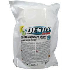 Servetele umede dezinfectante, 215 x 260mm, 200 buc/tub, Destix MA61 Jumbo refill pack