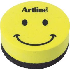 Burete magnetic ARTLINE Smiley, pentru table magnetice de scris