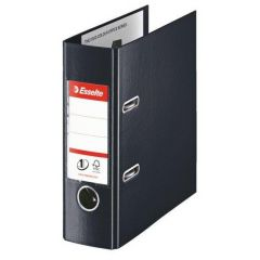 Biblioraft ESSELTE No.1 Power Vivida, PP/PP, A5, 75 mm, negru