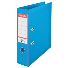 Biblioraft Esselte No.1 Power, PP/PP, A4, 75 mm, cyan
