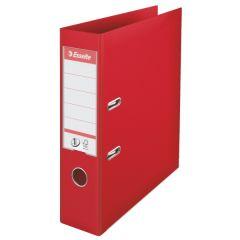 Biblioraft ESSELTE No.1 Power, PP/PP, A4, 75 mm, rosu