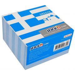 "Cub notes autoadeziv 70 x 70 mm, 400 file, Stick""n Greece - alb"