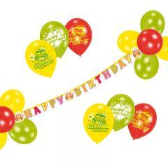 SET PARTY HAPPY BIRTHDAY 21 PIESE