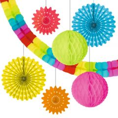 SET DECORATIUNI, MULTICOLORE, SET 7 PIESE