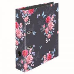 BIBLIORAFT A4 MAX.FILE 8 CM MOTIV LADYLIKE FLOWERS