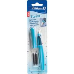STILOU TWIST ALBASTRU GRIP ERGONOMIC 2 REZERVE BLISTER