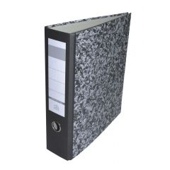 BIBLIORAFT A4 8CM MARMOR ECONOMIC FARA INSERTIE
