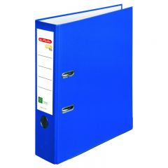 BIBLIORAFT ONE FILE A4 8 CM FSC ALBASTRU