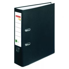 BIBLIORAFT ONE FILE A4 8 CM FSC NEGRU