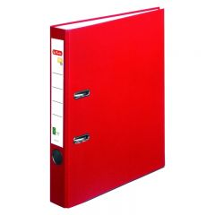 BIBLIORAFT ONE FILE A4 5 CM FSC ROSU