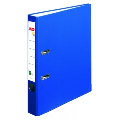 BIBLIORAFT ONE FILE A4 5 CM FSC ALBASTRU