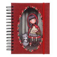 Agenda cu spira Gorjuss Little Red Riding Hood