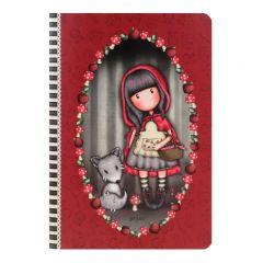 Caiet premium A5 Gorjuss Little Red Riding Hood
