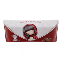 Etui ochelari cu buton magnetic Gorjuss Little Red Riding Hood