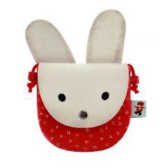 Poppi Love Geanta profilata White Bunny