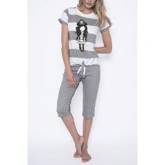 Pijama dama Santoro Gorjuss Piracy scurte