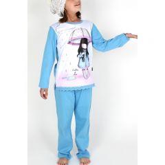 Pijama copii Gorjuss Puddle of Love