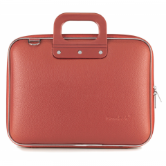 Geanta lux business laptop 13 Bombata Medio Classic-Coral
