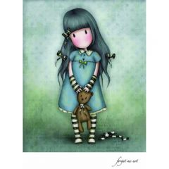 Felicitare Gorjuss - Forget Me Not