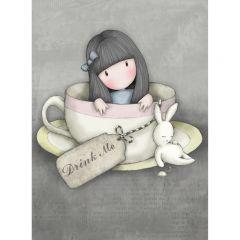 Felicitare Gorjuss-Sweet Tea