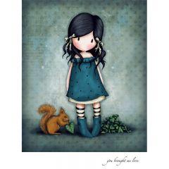 Felicitare Gorjuss - You Brought Me Love
