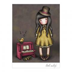 Felicitare Gorjuss Little Melody