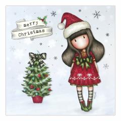 Felicitare de iarna Gorjuss - Merry Christmas