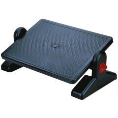 Suport ergonomic pentru picioare, ajustabil (x2), 400x70x350mm, Q-Connect - negru