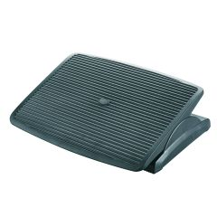 Suport pentru picioare, ergonomic, ajustabil (x1), 450x115x340mm, Q-Connect - negru