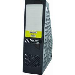 Suport vertical plastic pentru cataloage,  75mm, KEJEA - negru