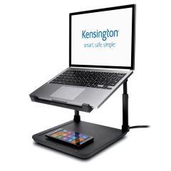 Kensington SmartFit Suport pt. laptop cu inaltime reglabila, suport incarcare wireless pt. telefon