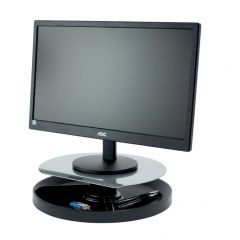 Kensington SmartFit Stand rotativ pentru monitor - negru