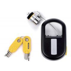 Kensington MicroSaver Cablu de Securitate retractabil pentru laptop  - Cu chei diferite