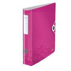 Biblioraft LEITZ 180 Active WOW, polyfoam, A4, 65 mm, roz