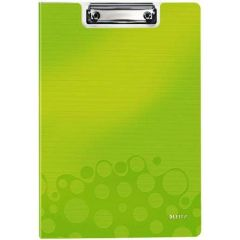 Clipboard dublu LEITZ Wow, PP - verde metalizat