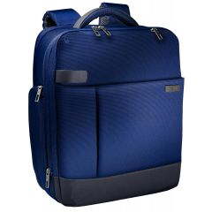 Rucsac LEITZ Complete pentru Laptop 15,6 inch, Smart Traveller - albastru/violet